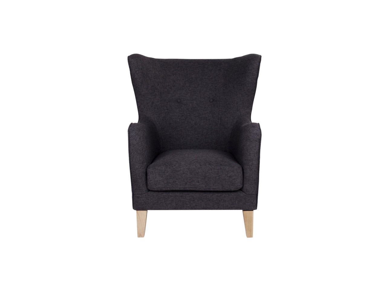 Subscription_OMNI_Hugh_Armchair_wooden_legs_Gray_furniture_office_comfortable_elegant_back_cushion
