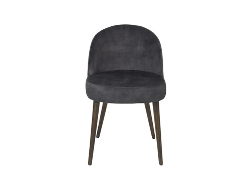 Subscription_OMNI_Cozy_Living_Thekla_Chair_velvet_material_Coal_Nordic_design_four_legs_comfortable_classy_office
