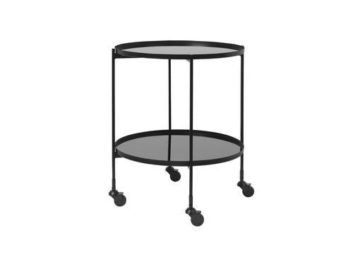 Subscription_OMNI_Cozy_Living_black_round_bar_cart_classic_wheels_conference_office_meeting_room_Danish_furniture_elegant