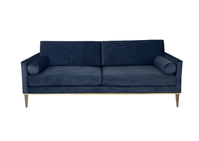 Club Sofa, Velvet Navy