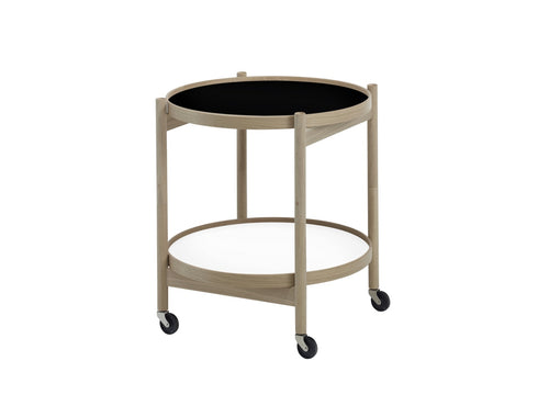 Subscription_OMNI_Brdr._Krüger_Small_Tray_Table_B&W_classic_wheels_conference_office_meeting_Danish_furniture_functional