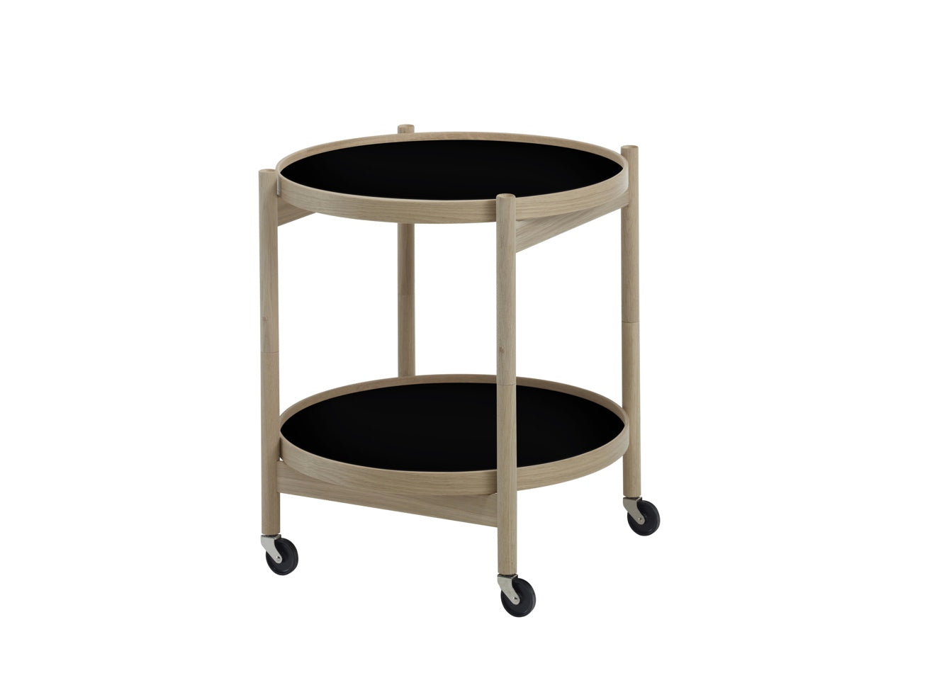 Subscription_OMNI_Brdr._Krüger_Small_Tray_Table_Black_classic_wheels_conference_office_wooden_frame_furniture_functional