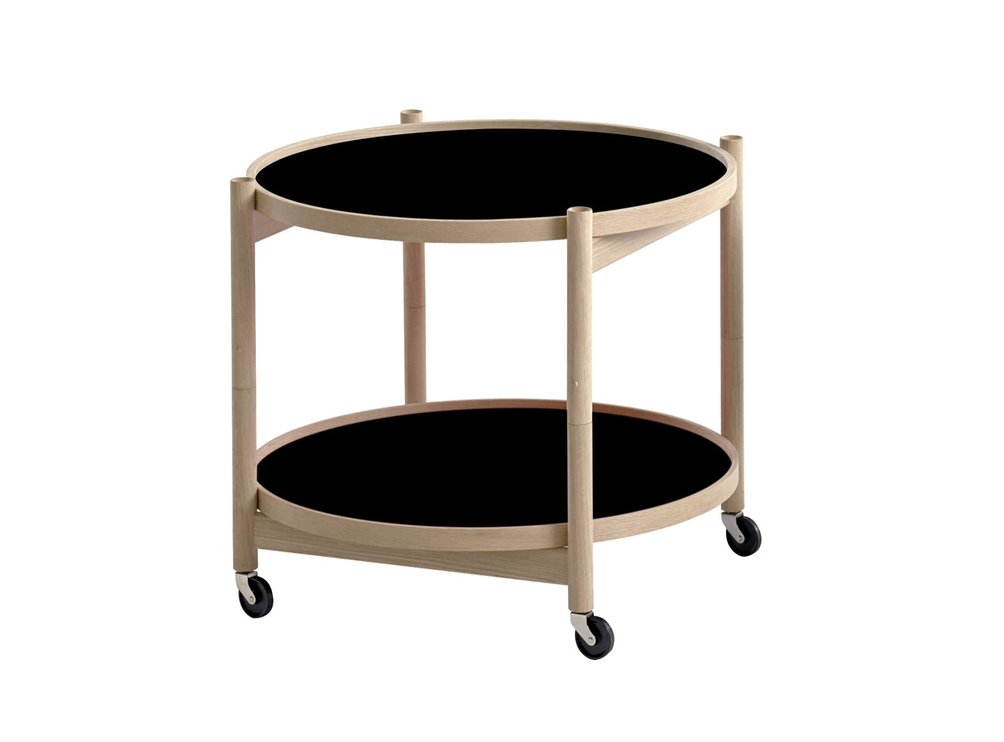 Subscription_OMNI_Brdr._Krüger_Large_Tray_Table_Black_classic_wheels_conference_office_wooden_frame_furniture_functional