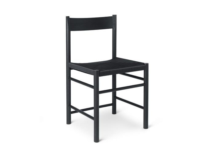 F Chair, Black