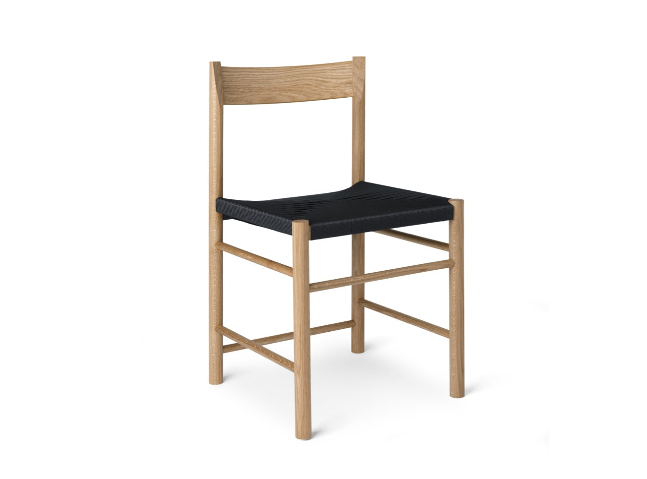Subscription_Brdr_Krüger_Oak_&_Black_F_chair_classic_four_legged_meeting_conference_room_lightweight