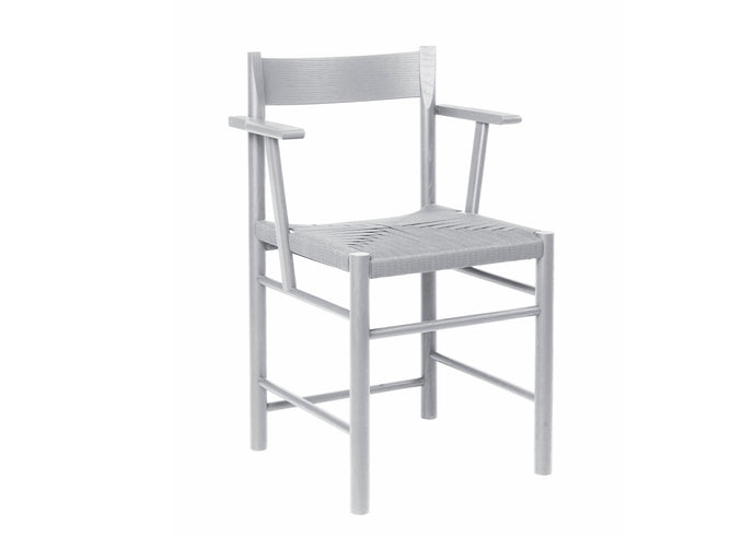 F Chair, Armed Gray