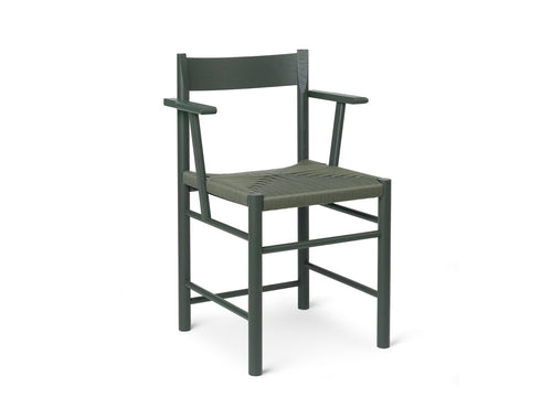 Subscription_Brdr_Krüger_Armed_Green_F_chair_classic_four_legged_meeting_conference_room_lightweight