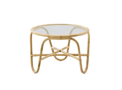 Subscription_OMNI_Arne_Jacobsen_Charlottenborg_Table_classic_conference_office_round_glass_top_rattan_furniture_functional