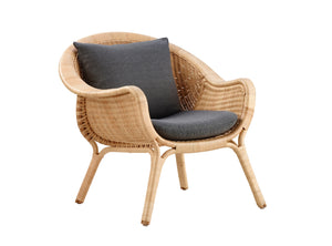 Subscription_OMNI_Nanna_Ditzel_The_Armchair_cushioned_Danish_design_furniture_office_comfortable_elegant_material_rattan The Armchair, Cushioned