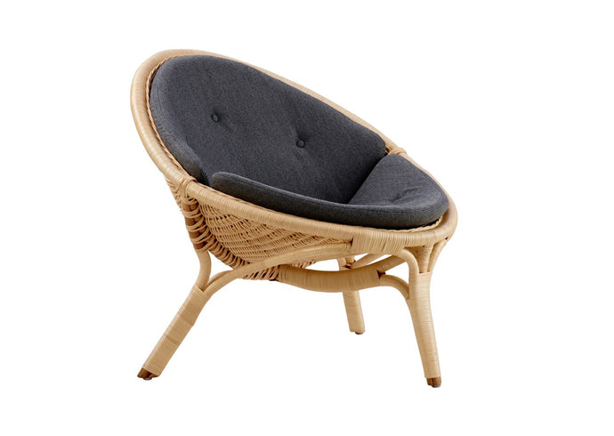 Rana Chair, Cushioned