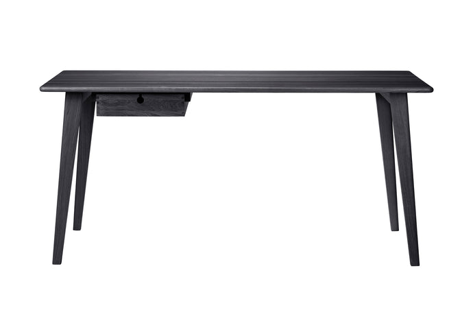 C67L Butler Desk, Black