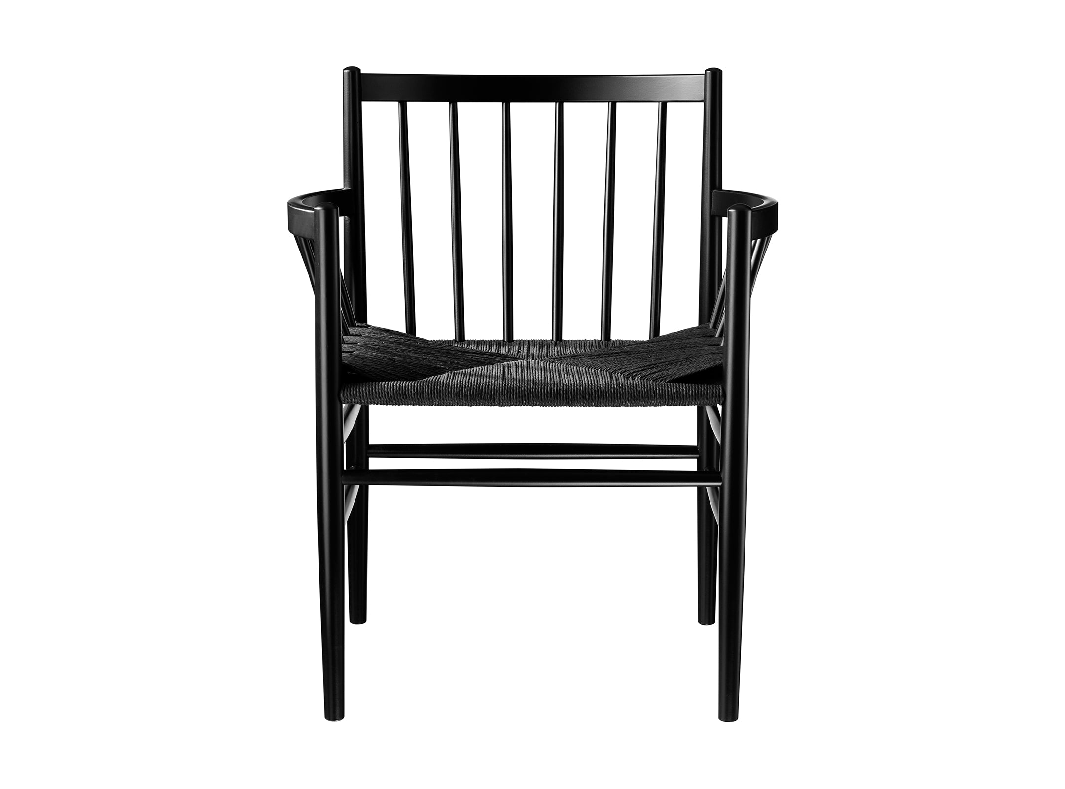 J81 Chair, Black & Black