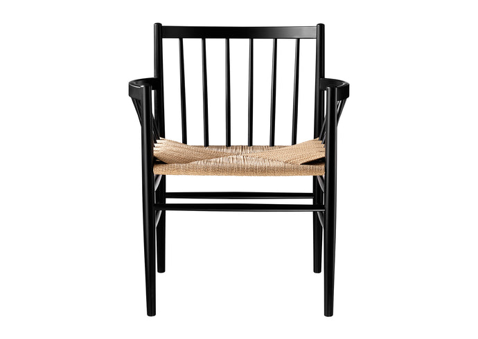 J81 Chair, Black & Nature
