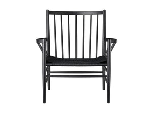 J82 Chair, Black & Black J82 Chair, Black & Black