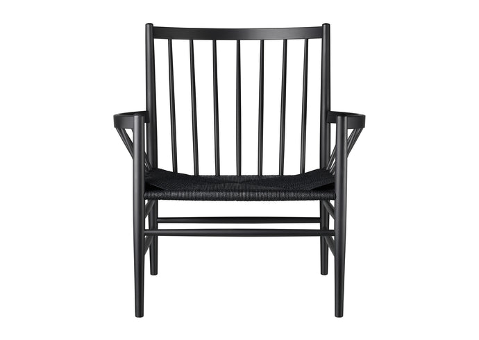 J82 Chair, Black & Black