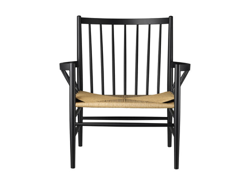 J82 Chair, Black & Nature