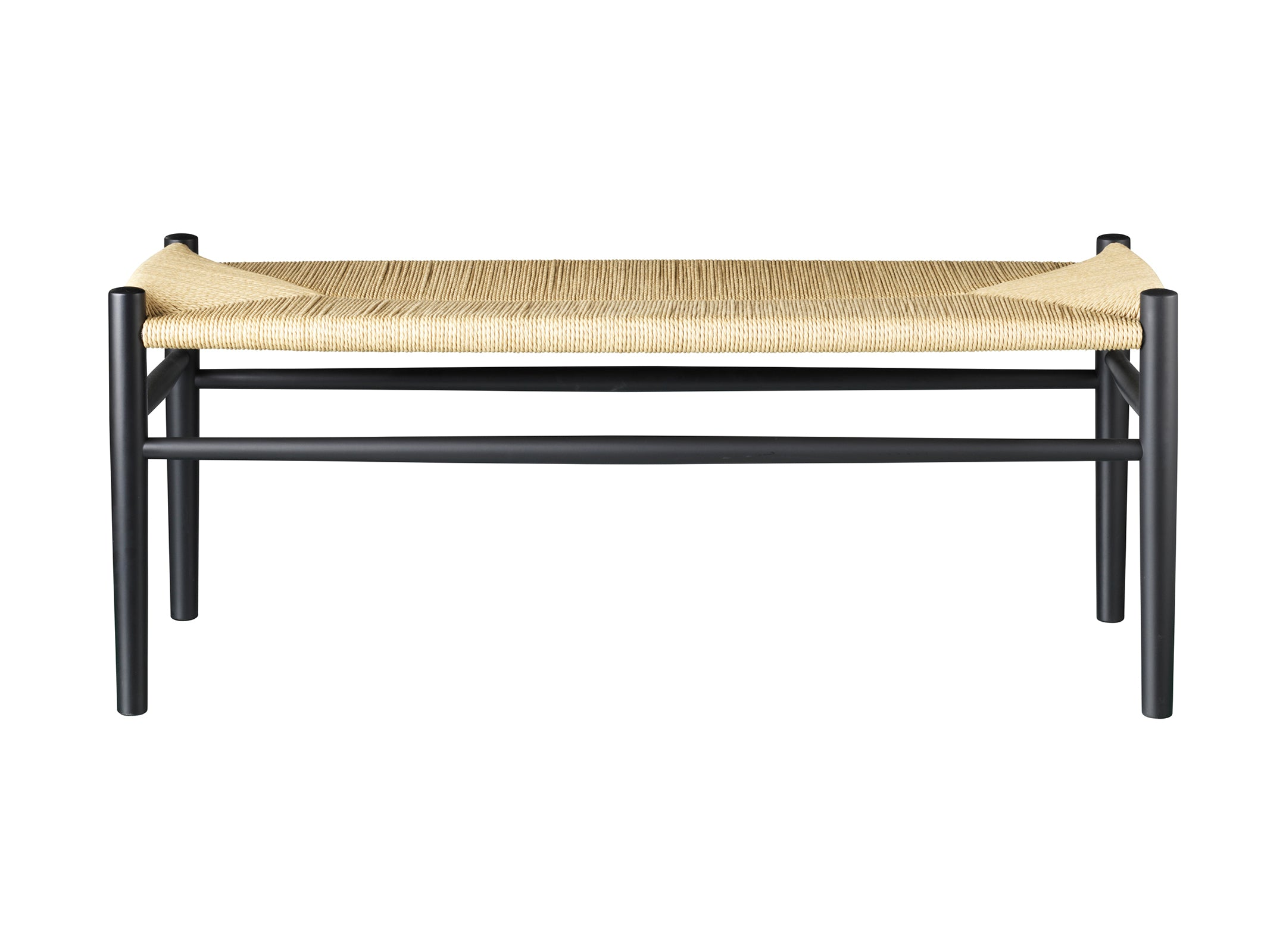 J83B Bench, Black & Nature