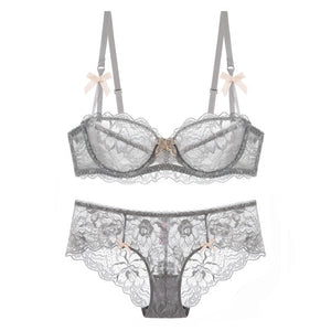 bra & brief sets ultra-thin brassiere sexy women underwear