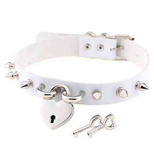 Bondage Spike Choker Necklaces for Women