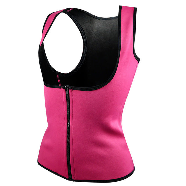 Hot Neoprene Body Shaper Slimming Waist Trainer Cincher Vest Women 2019 Sexy Workout Thermo Push Up Trainer shapers