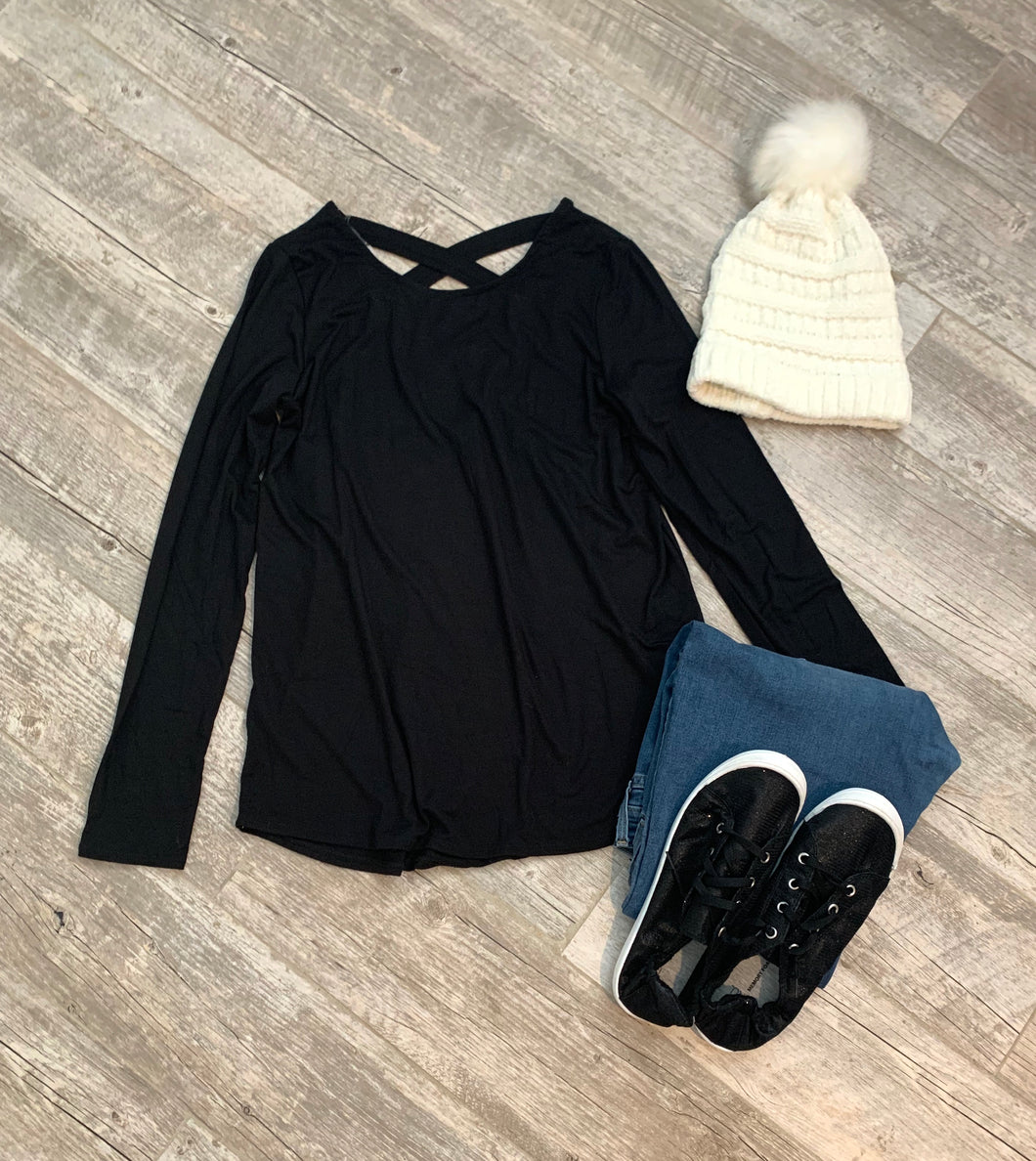 Always You Basic Black Top