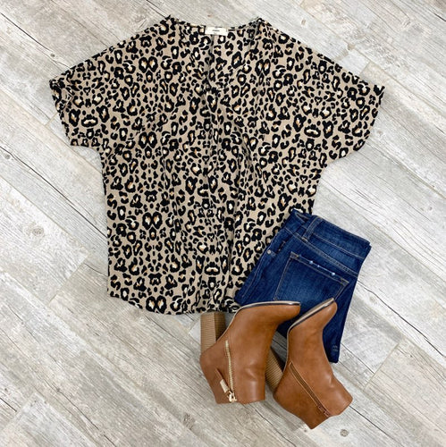 Fall For Me Leopard Top