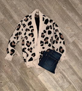 Simply Irresistible Leopard Cardigan
