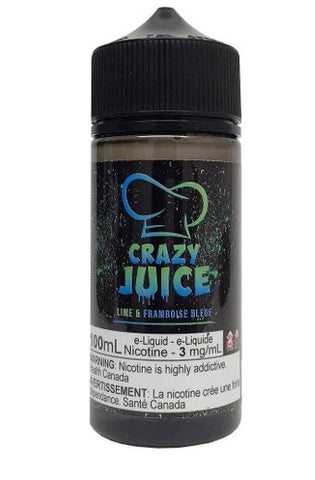 CRAZY 100ML </p>Lime Raspberry