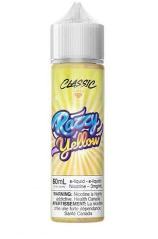 RAZZY YELLOW </P>Blue Raspberry & Lemon