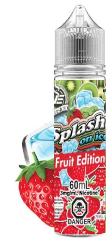 SPLASH ON ICE </p>Strawberry Kiwi Ice