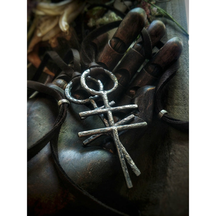SIGIL NECKLACE Peace, Love & Creativity - Art In Motion Jewelry & Metal Studio