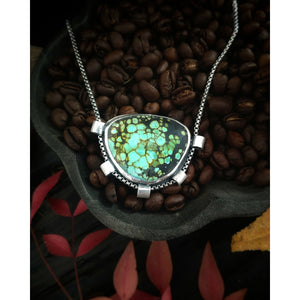 SHOWCASED - Turquoise Mountain Turquoise - Sterling Silver Necklace
