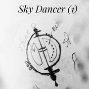 SKY DANCER - MINI KINETIC ART SCULPTURE COLLECTION #1 - Necklace - Art In Motion Jewelry & Metal Studio