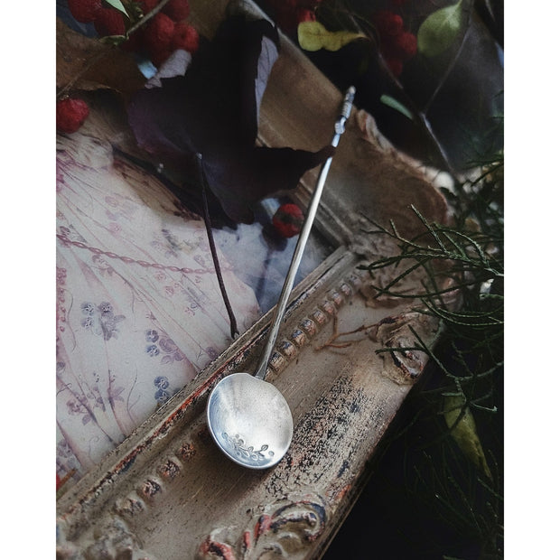 Hand Forged - Sterling Silver - Tea Spoon - Baby Spoon - Made To Order - Art In Motion Jewelry & Metal Studio