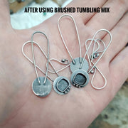BRUSHED TUMBLING MIX - AIM Jewelry Supply - Art In Motion Jewelry & Metal Studio