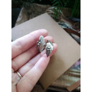 SILKEN FEATHER - Adjustable Ring - Made to Order - Art In Motion Jewelry & Metal Studio