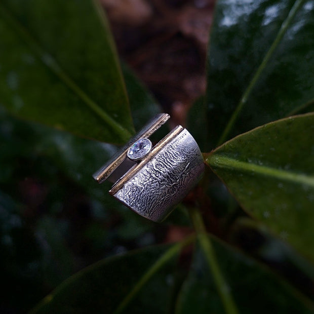 EMPOWERED RING - Statement Ring - Made to Order - Art In Motion Jewelry & Metal Studio