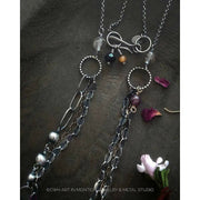 WILD SPIRIT Multi-Strand Necklace - Art In Motion Jewelry & Metal Studio