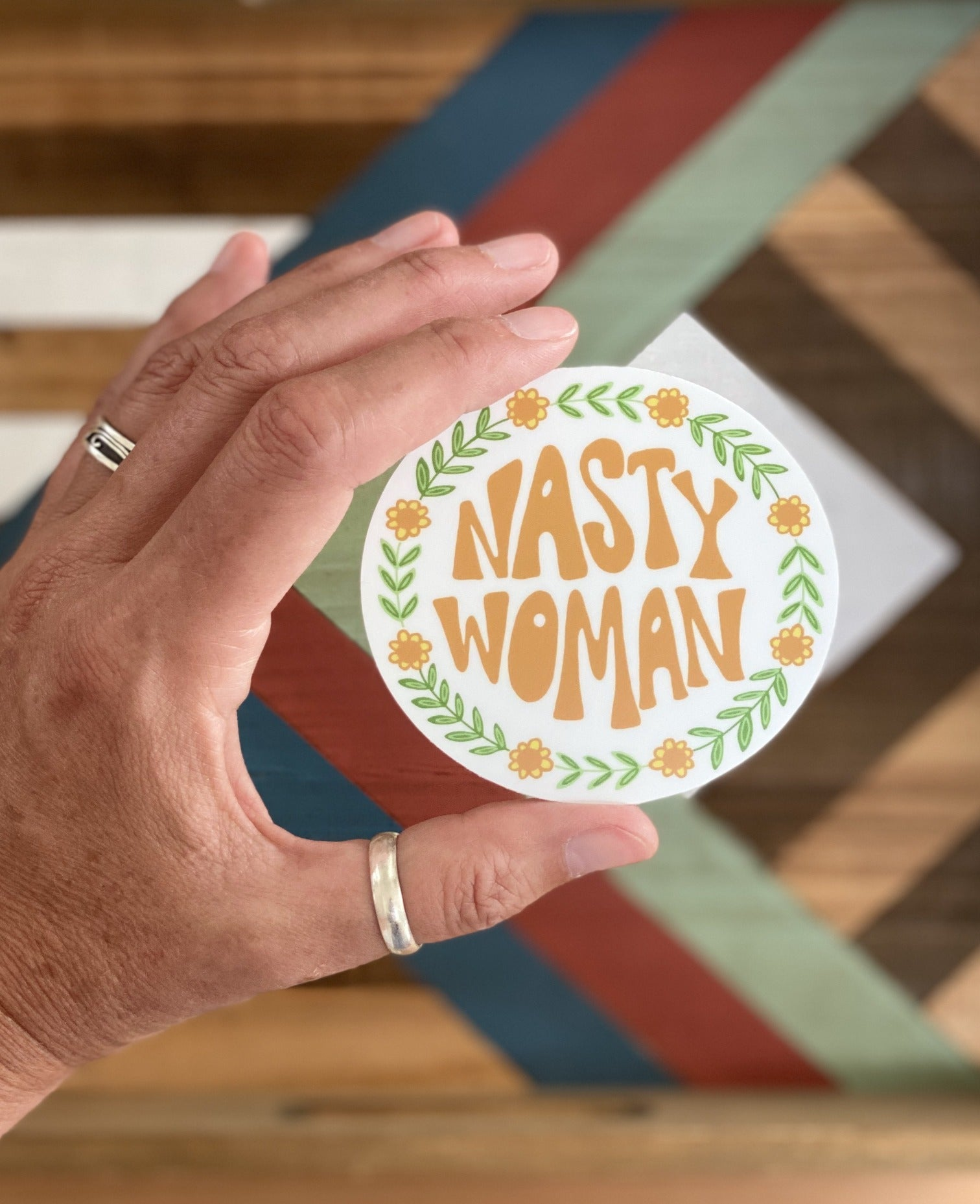 "3"" Vinyl Sticker - Nasty Woman"
