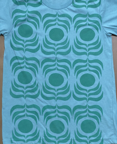 green sage/sage ink t-shirt  (adult size S)