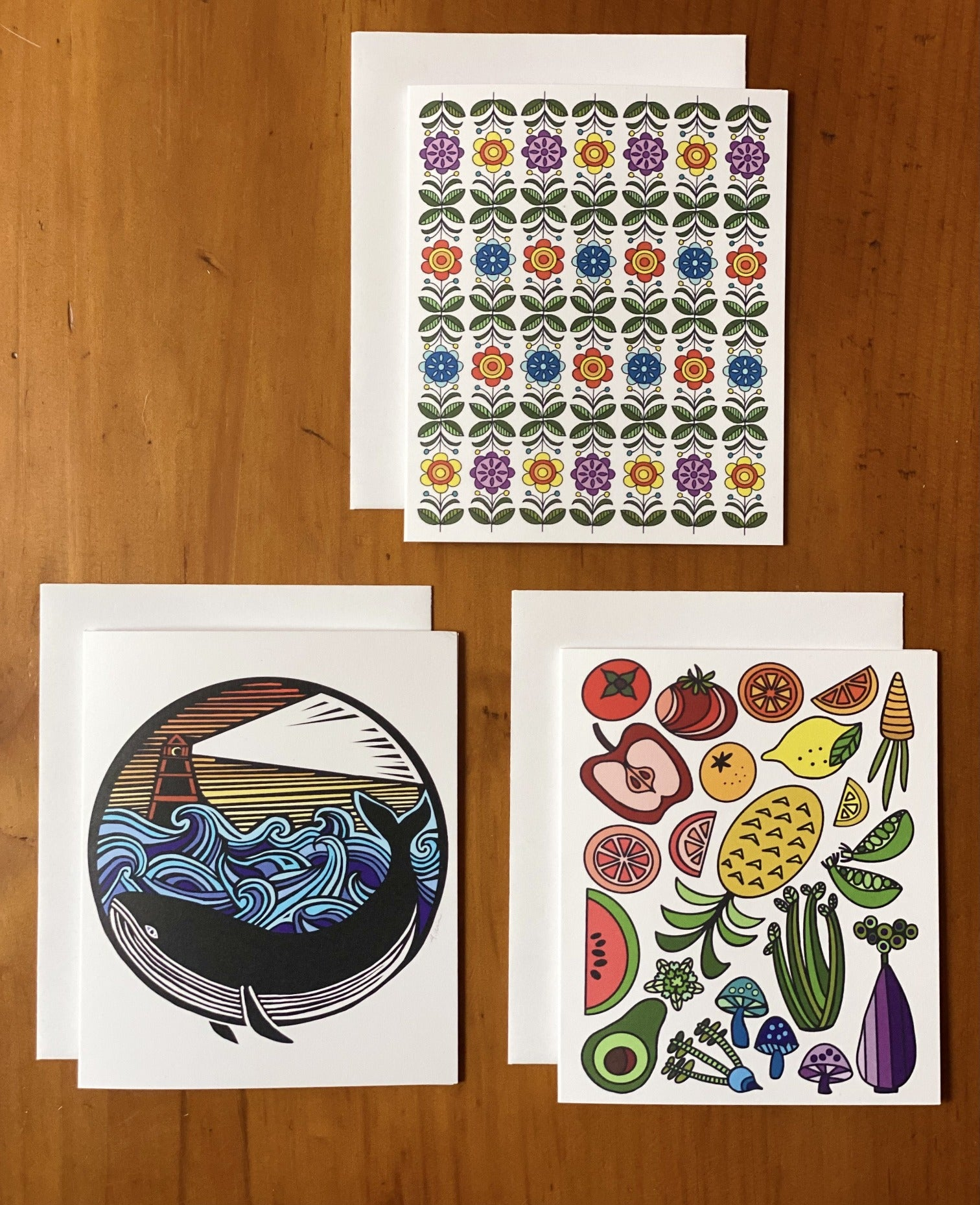 Note Card - set of three