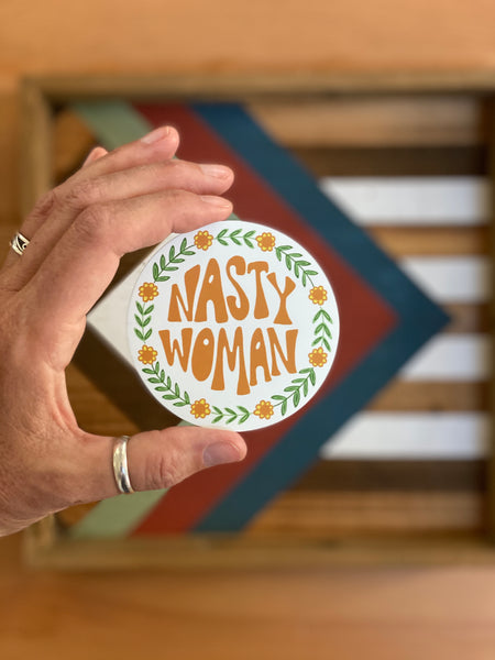 "Magnet 3"" Nasty Woman"