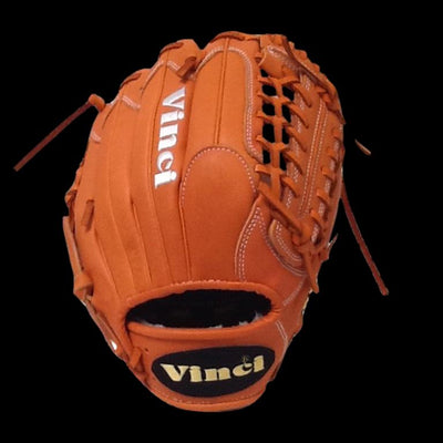 VINCI - Limited Series JC3300-L Orange 11.5 Inch Fielders Glove - Evolution Baseball Company
