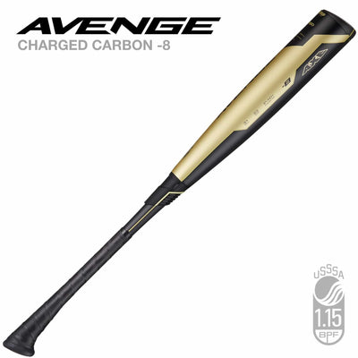 "2019 AVENGE COMPOSITE USSSA (-8) 2-3/4"" AXE BASEBALL BAT - Evolution Baseball Company"