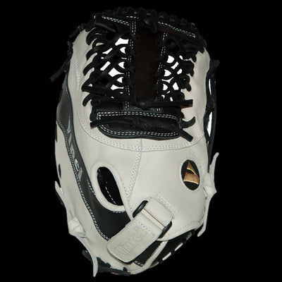 VINCI - Limited Series JBV04 Black/White 13 Inch First Base Mitt - Evolution Baseball Company