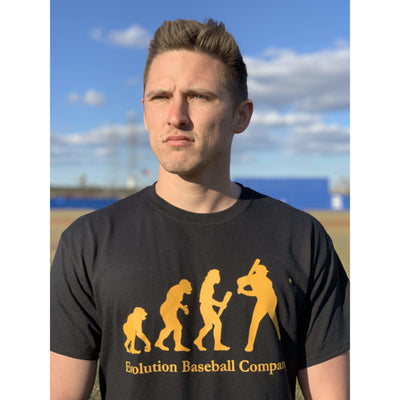 Short Sleeve Evolution Baseball Company T-Shirt - Evolution Baseball Company