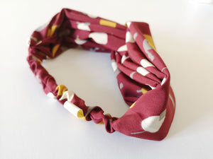 Headband Bordeaux