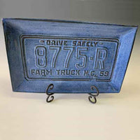 License Plate Trays