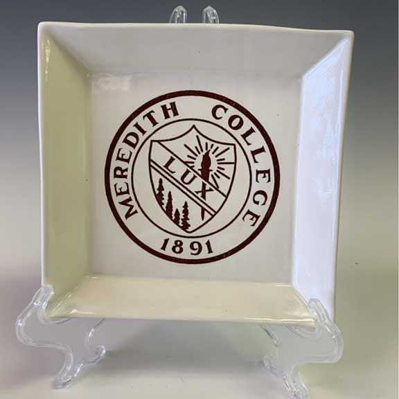 Meredith College Tray