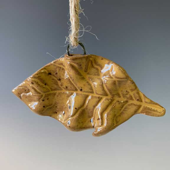 Tobacco Leaf Ornament